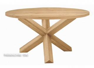 dining tables round x spyder oak dining table