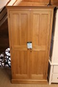 Solid Oak Wardrobe - Made in the UK
