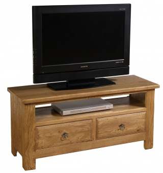 Village Oak TV Unit
