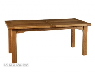 Modular oak dining table farningham oak country and for Modular dining table