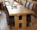 H Big Oak Dining Table