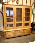 French Oak Dresser Bookcase