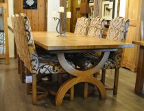 Royal Oak Hooped Dining Table
