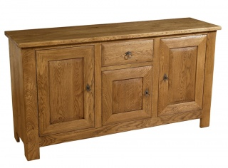 Village 3 Door Oak Sideboard