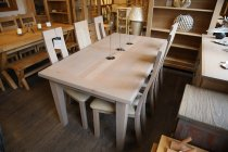 French Oak Horizon Dining Set