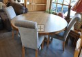 English Oak Round Dining Table