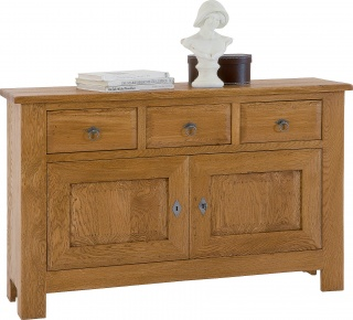 Village 2 Door Oak Sideboard