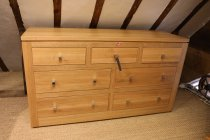 Solid Oak Chest Of Drawers - Made in the UK