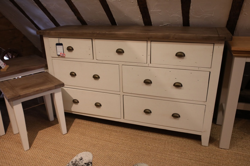 Reclaimed Chest Of Drawers - Click Image to Close