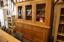 Solid French Oak 3 Door Dresser