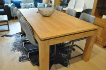 Wave Oak Dining Table