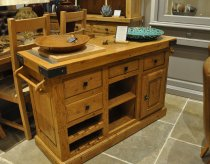 French Oak Carvery / Butchers block