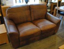 Trafford 2 Seater Leather Sofa