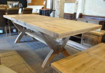 Reims Oak Dining Table