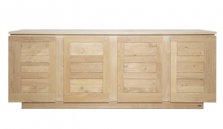 Elements 4 Door Oak Sideboard